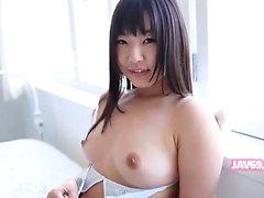 Belle cornée japonais la fille Banging