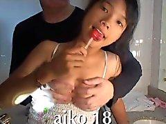 Улыбаясь Viet девушка любит член в рот thaigirltia.com