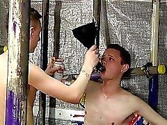 Sexy gay Feeding Aiden A 9 Inch Cock