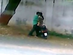 Лиари Карачи Пакистан проселочной дороге Sex Caught с мобильного