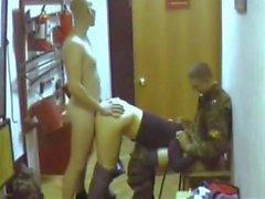 Ryska armén Gangbang