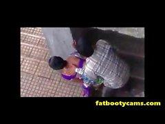 Versteckte Cam von indischen Paar Fucking Outside - fatbootycams