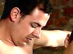 Reizvoll Homosexuell Hung Junge Made To Sperma Hart