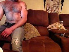 Amateur blonde MILF Streifen für Webcam