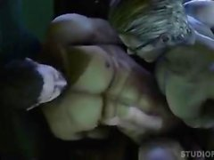 Chris Redfield fucked by Wesker