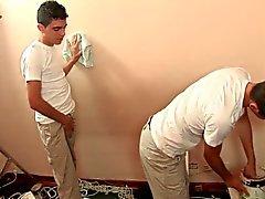 Latino Twinks İşi 1 Boya