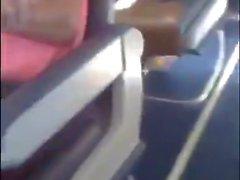 Madison Ivy amateur masturbation on a plane