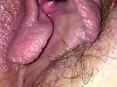 Stor tjock mun forsar