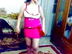 Hot sexy Egybtian danza araba in casa nudo