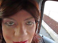 Peligrosa por detrás , Brutal Verbal Gloryhole mamada de de televisión de CD mariquita