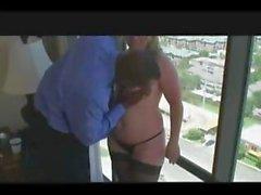 Swinger -Ehefrau Zucht Sitzung