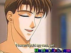 Di hentai ragazzo ottiene il suo cazzo succhiato e sedotto