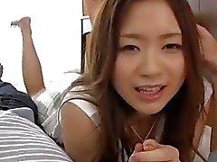 beauty pechugón Mayuka Akimoto feria pornografía espléndido del POV