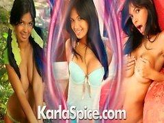 Karla Spice Green Bikini