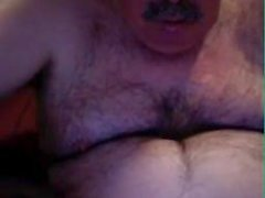 Vovô em webcam