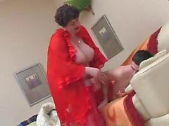 BBW WakesTeen Boy ja Fucks by TROC