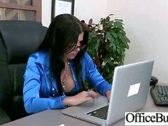 De Office Tetas Chicas la follan duro de la película -25