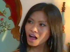 Eins asiatisch ( Priva ) zwei = Penis Großes Gesichtsbehaarung