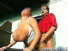 Horny lumber jack is cock sucked part6
