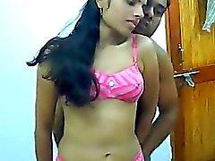 Hecha en casa Sexuales india de pareja Amateur de Rajesh y de Aarti