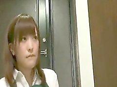 Сексуальная Нормальное японский язык Милая Takes A ботаны парню жесткую член Г
