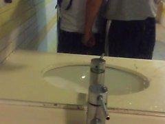Captured in public bathroom