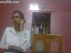 slampiga indier sekreterare få Kåta på kontoret
