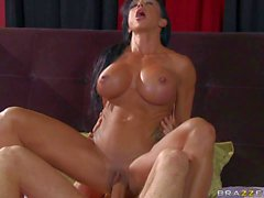 Jewels Jade is a hot bodied MILF. Her son's buddy