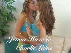Jenna Haze und Charlie Laine in L