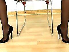 Strumpbyxor Legs , åsna och fötter dyrkan