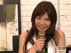 Karen Natsuhara onu boğulma büyük horoz seviyor