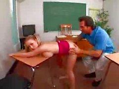 Madison Scott fucks her teacher