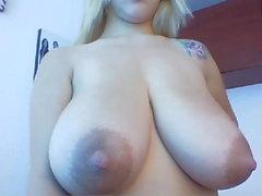 Riesige kolumbianische Titten