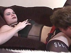 Smoking Goth Girl Sarah Jane Stays Orally Fixated