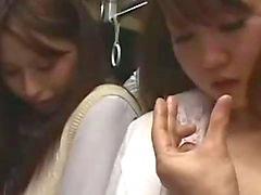 Büro Frauen bekommen ihre Behaarte Muschi fing Lutschen Typ Hahn die Gesichts in den Bus