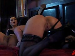 Kendra Lust And Karlie Montana Lesbian Action