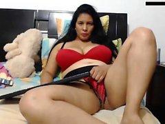 BBW maturo Solo in webcam