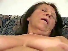 Horny chubby granny.
