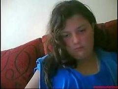 # 0396 - fille de Skype s'amusant