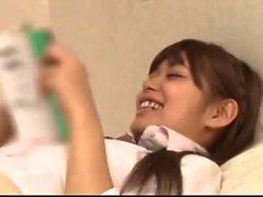 Hairy Japanese Teen Creampie