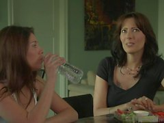 Shyla Jennings and Zoey Holloway Lesbian Talk