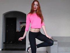 Vegetable fetish video with professional masturbation