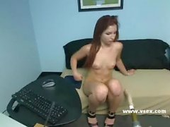 Pornstar Lexi Brooks live sex machine webcam