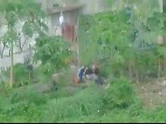 indonesian ngintip jilbab de ngentot Belakang bangunan