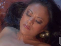 Kaylani Lei takes it in her hot asian ass