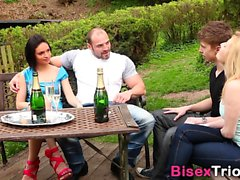 Bisex babes i foursome