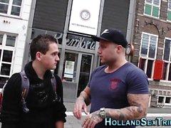Hollandalı fahişe sperm