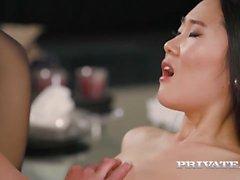 Asiatisches Mädchen Katana