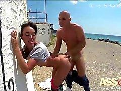 Sexo al aire libre Franceska Jaimes