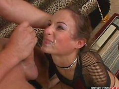 Amber Rayne Brutal Throatfucking